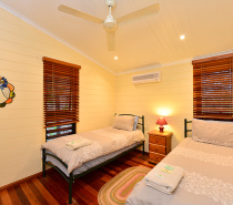 Birdwing twin bedroom
