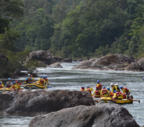 Your afternoon White Water Rafting through the Barron Gorge National Park