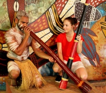 Didgeridoo Playing - Rainforest Station