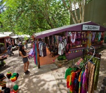 Locally made products at the kuranda Markets