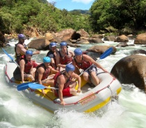 Barron River Half Day White Water Rafting
