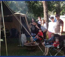 Camping at Lake Tinaroo