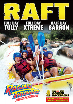 White Water Rafting - Barron River - Raging Thunder Adventures