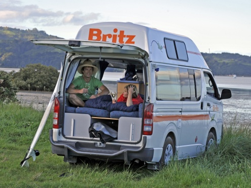 BRITZ CAMPERVAN HIRE AND CAR RENTAL AUSTRALIA