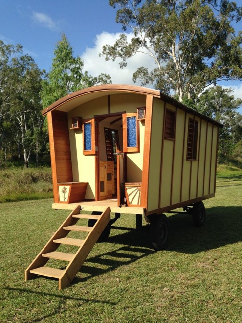 Sweetwater Glamping Port Douglas Hinterland – in our beautiful new Gypsy Wagon