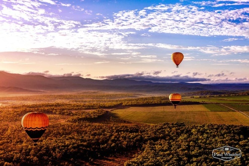 60 Minute Double Hot Air Balloon Flight