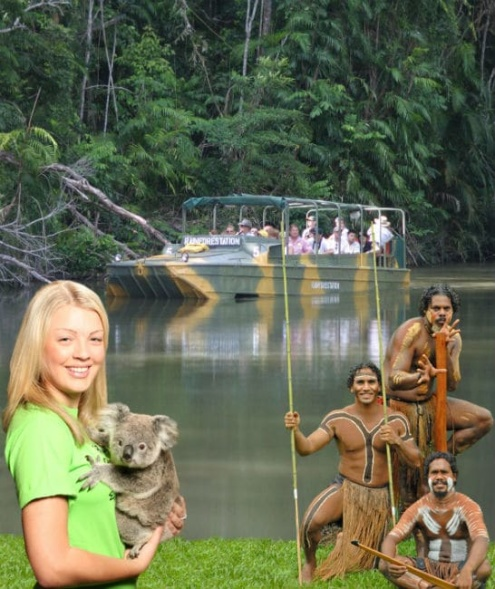 KURANDA RAINFOREST, ABORIGINAL CULTURE AND WILDLIFE TOUR