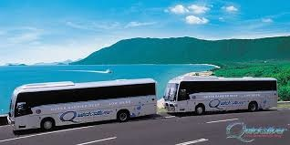 Quicksilver Coach transfer from Cairns to Port Douglas