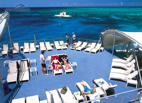 Great Adventures Reef Pontoon