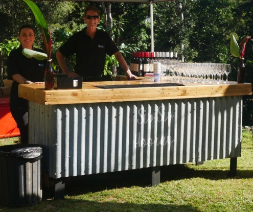 Cocktail catering and professional bartender hire throughout Cairns and beyond