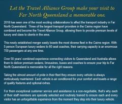 Let the Travel Alliance Group make your visit to far north queensland a memorial one!