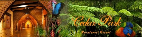 Cedar Park Rainforest Resort, Restaurant & Bar