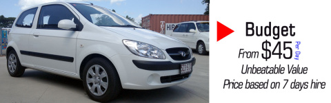 Cairns Affordable Car Rentals