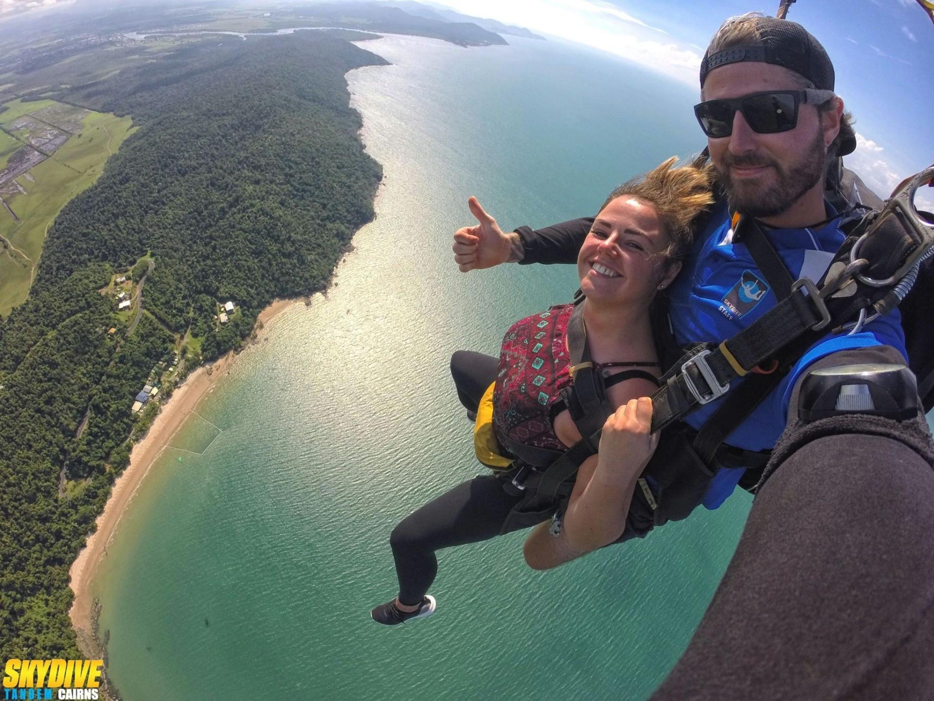Tandem Cairns Skydiving - Atherton Tablelands - Tourism Town