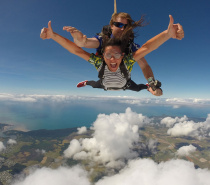 All our skydives offer amazing coastal views including the Great Barrier Reef.